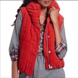 ❤️Anthro Red Puffer Vest🌲
